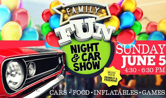Family Fun Night & Car Show