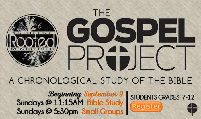 Gospel Project starts