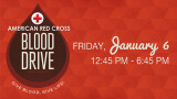 12:45 PM Red Cross Blood Drive