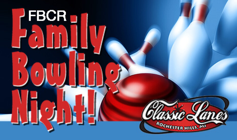 6 PM Family Bowling Night