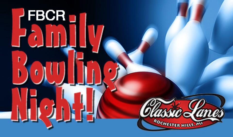 6 PM Family Bowling Night