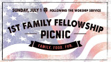 11:15 AM First Family Fellowship
