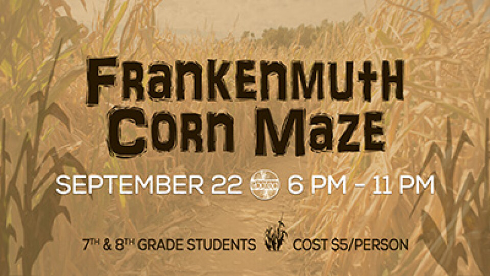 6 PM Rooted Students Jr High Corn Maze