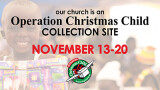1 PM Operation Christmas Child Collection Day