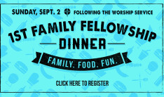 First Family Fellowship Sept 2