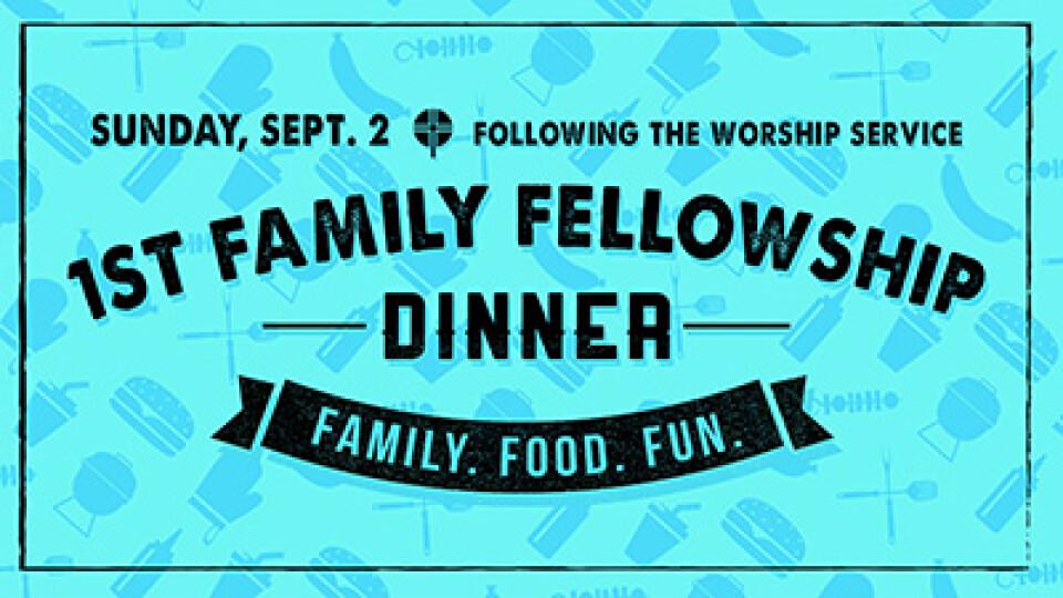 11:15 AM First Family Fellowship