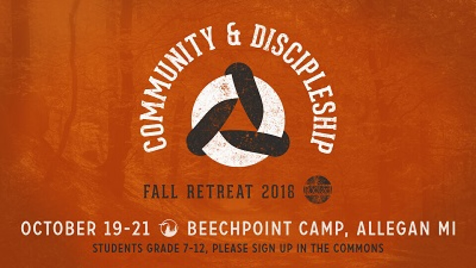 Rooted Students Fall Retreat