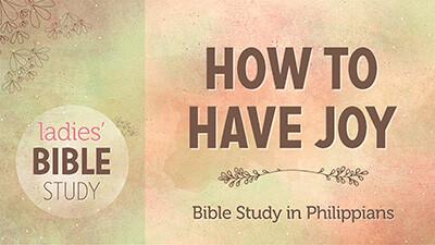 9:30 AM Ladies' Bible Study