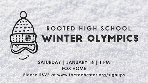 1 PM Rooted High School Students Winter Olympics