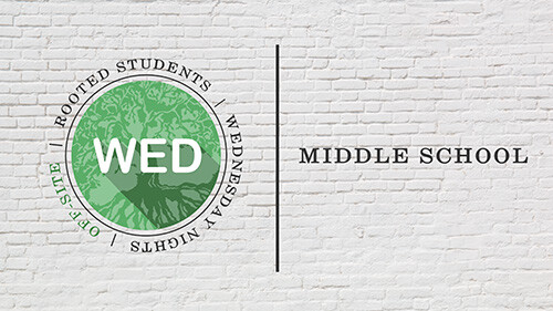 6:30 PM Rooted Middle Students  (Ewell Home)